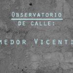 Observatorio de Calle: Comedor Vicentino